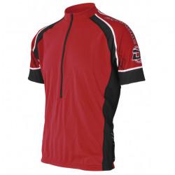 Cycling T-shirt LASTING DTU, Red