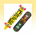 Skateboards, longbords, surfers and penny boards