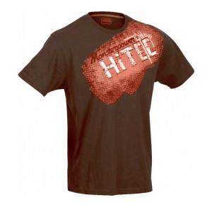 Men's Sports T-Shirt HI-TEC Rojvol, Chocolate