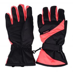 Winter gloves ELBRUS Noia Wos, Black/Orange