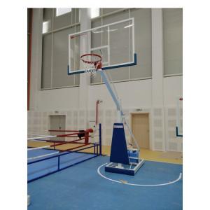 Mobile Plexiglas Basketball Stand