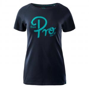 Women's T-shirt IGUANA Baaky II, Blue