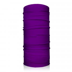 Multifunctional scarf YAKO , Purple