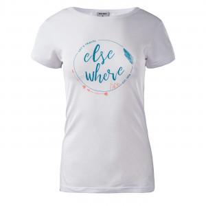 Women's T-shirt HI-TEC Lady Elsea, White