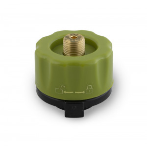Adapter for gas bottle PINGUIN 220 g New, Green