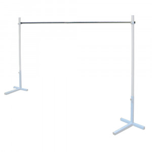 Aluminum lath stands for high jump 3m