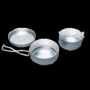 Aluminum cooking set YATE Alu, 3 parts