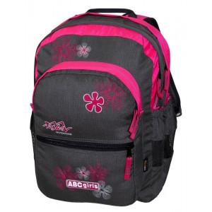 Backpack TASHEV ABC Girls - Gray / Pink