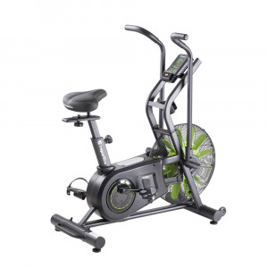 Bicycle ergometer with air resistance inSPORTline Airbike Lite