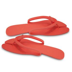 Flip-flops YATE Travel Slippers, Red