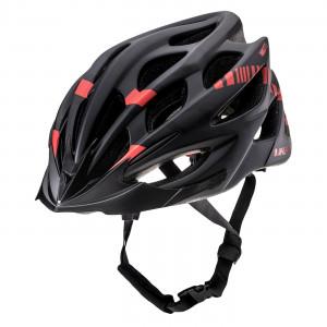 Bicycle helmet HI-TEC Roadway, Black/Red
