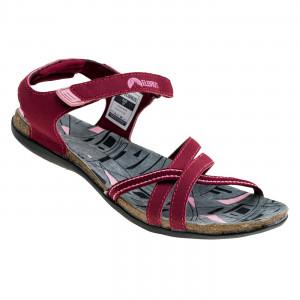 Ladies sports sandals ELBRUS Lavera Wos, Bordeaux