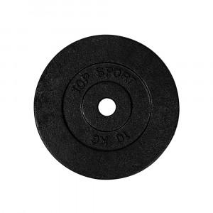 Cast iron disc TOP SPORT Castyr 10 kg