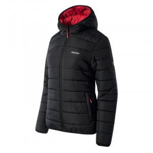 HI-TEC Lady Halden women's jacket, Black / Red