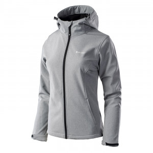 Women's softshell jacket HI-TEC Lady Capri, Gray