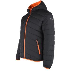 HI-TEC Blato men's winter jacket, Black / Orange
