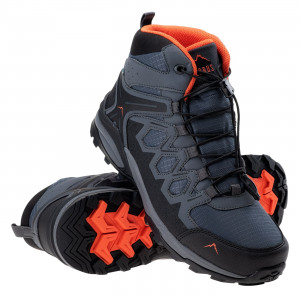 Men's shoes ELBRUS Euberen Mid WP, Dark gray