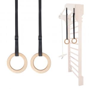 Gymnastic rings for Swedish wall inSPORTline