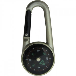 Carabiner with compass MAXIMA