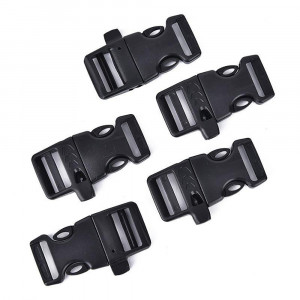 Buckles DURAFLEX 20MM with whistle for signaling
