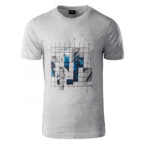 Men's T-shirt HI-TEC Nerod, Gray