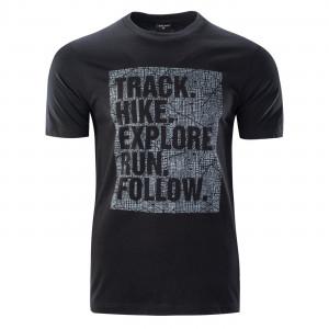 Men's T-shirt HI-TEC Thero, Black