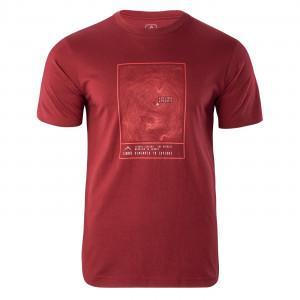 Men's T-shirt ELBRUS Napo III, Red