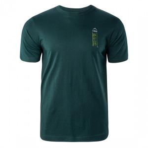 Men's T-shirt ELBRUS Rima III, Dark green