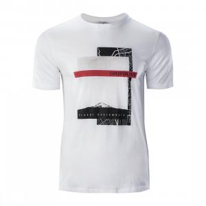Men's T-shirt HI-TEC Baris, White