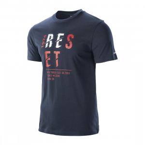 Men's T-shirt HI-TEC Rimo, navy blue