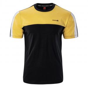 Men's T-shirt IGUANA Rampart, Black / Yellow