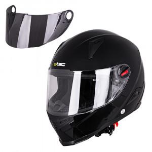 Motorcycle helmet W-TEC NK-863, Black gloss