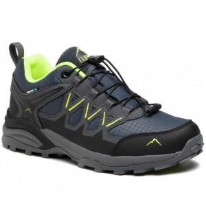 Mens shoes ELBRUS Euberen Low WP, Dark gray