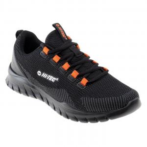 Mens shoes HI-TEC Herami, Black / Gray / Orange