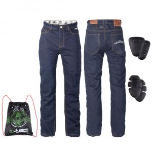 Mens motorcycle pants W-TEC Resoluto, Blue