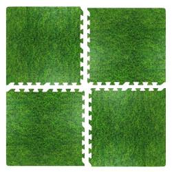 Modular flooring set MAXIMA EVA 60x60x1 cm, 4pcs
