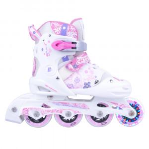 Children's roller skates WORKER Diane LED