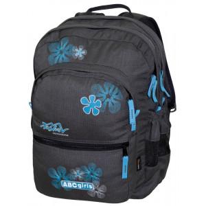 Backpack TASHEV ABC Girls - Gray / Blue