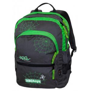 Backpack TASHEV ABC Boys - Gray / Green