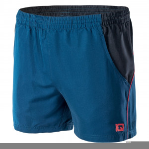 Mens shorts IQ Silmo, Blue / Red