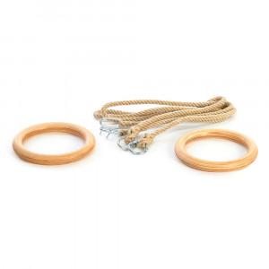 Gymnastic rings SPARTAN, 24 cm