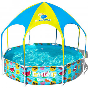 Children's pool with sunshade Bestway Play Pool 240