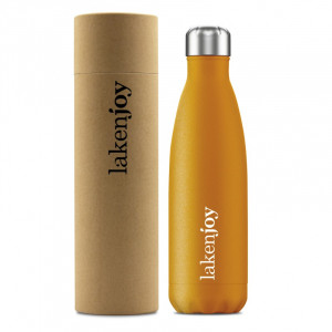 Thermos bottle LAKENJOY 0.5 l, Orange