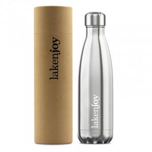 Thermos bottle LAKENJOY 0.5 l, Gray