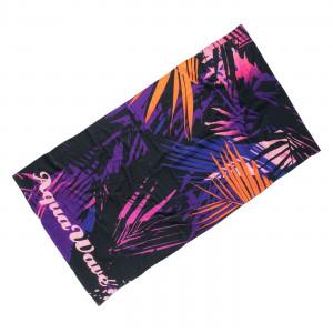 Beach towel AQUAWAVE Toflo, Black / Purple