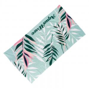 Beach towel AQUAWAVE Toflo Aqua print