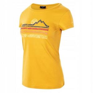 Womens T-shirt HI-TEC Lady Donyr, Yellow