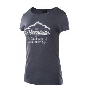 Womens T-shirt HI-TEC Lady Nulis, Dark Blue