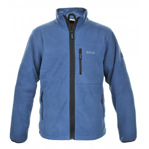 Fleece jacket HI-TEC Polaris, Grey blue