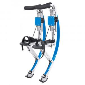 Jumping Stilts Worker Hoppero, Blue